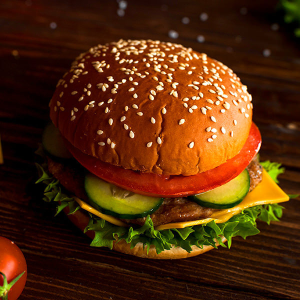 Гамбургер по-русски